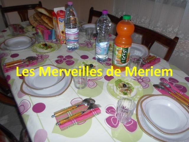 Nos tables du f'tour * Les dîners ramadanèsques* - Page 9 Table_30