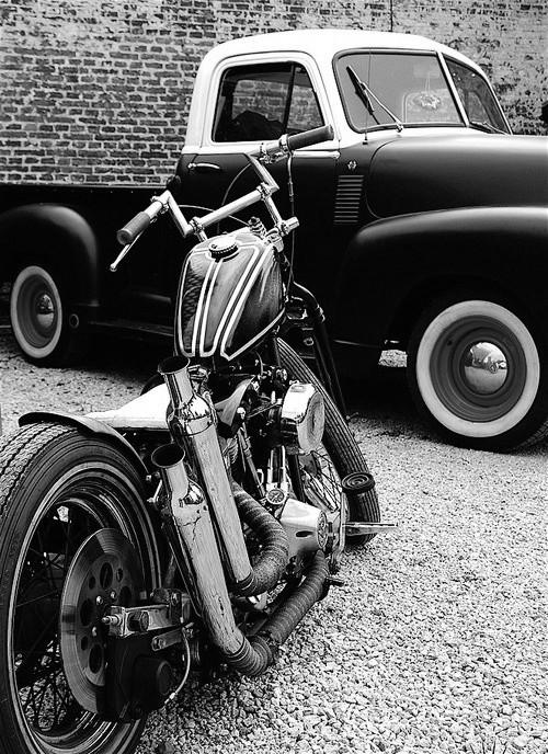 le noir et blanc mis à l'honneur. Tumblr17