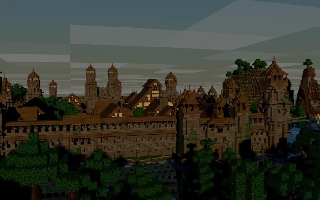 Fond d'écran Minecraft HD à volonté! Art_wo14
