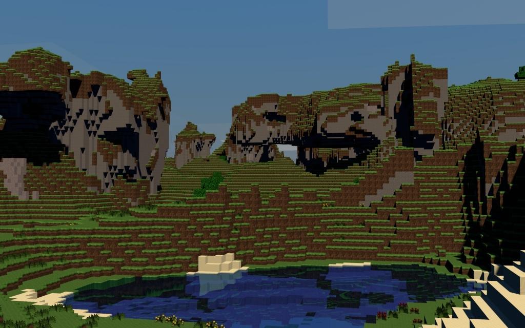 Fond d'écran Minecraft HD à volonté! Melk_210