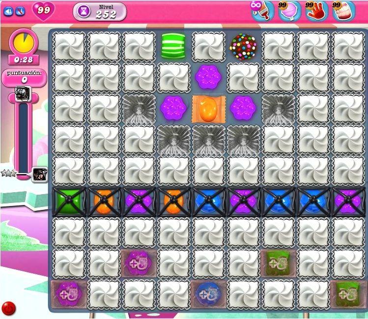 Candy Crush Saga, el nivel 254! Sin_ta11