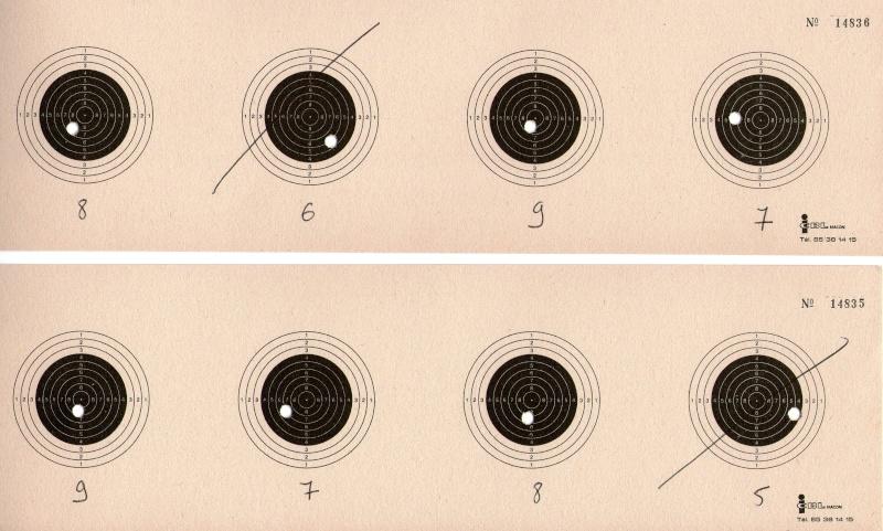 entrainement 10m carabine sur cible cc 100point - Page 5 Carton16