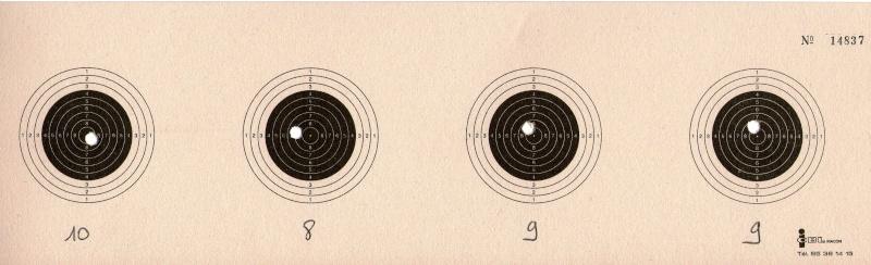 entrainement 10m carabine sur cible cc 100point - Page 5 Carton17