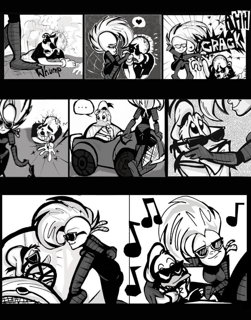 Xadhoom's Wish-- PaperNink fan comic shorts X1110