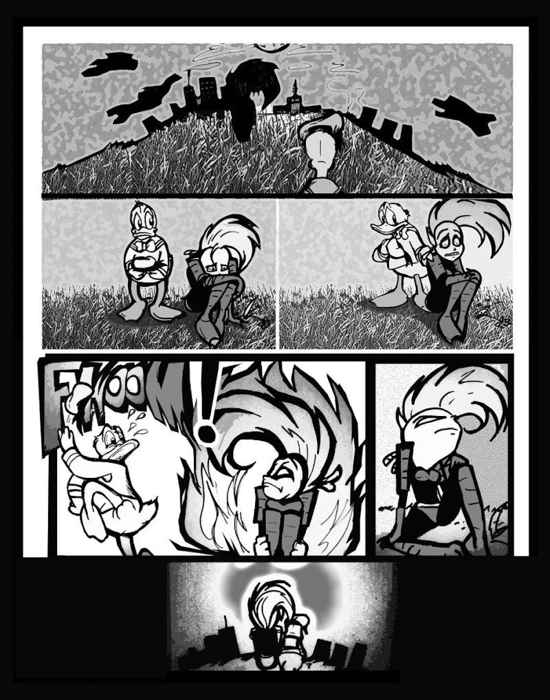 Xadhoom's Wish-- PaperNink fan comic shorts X210
