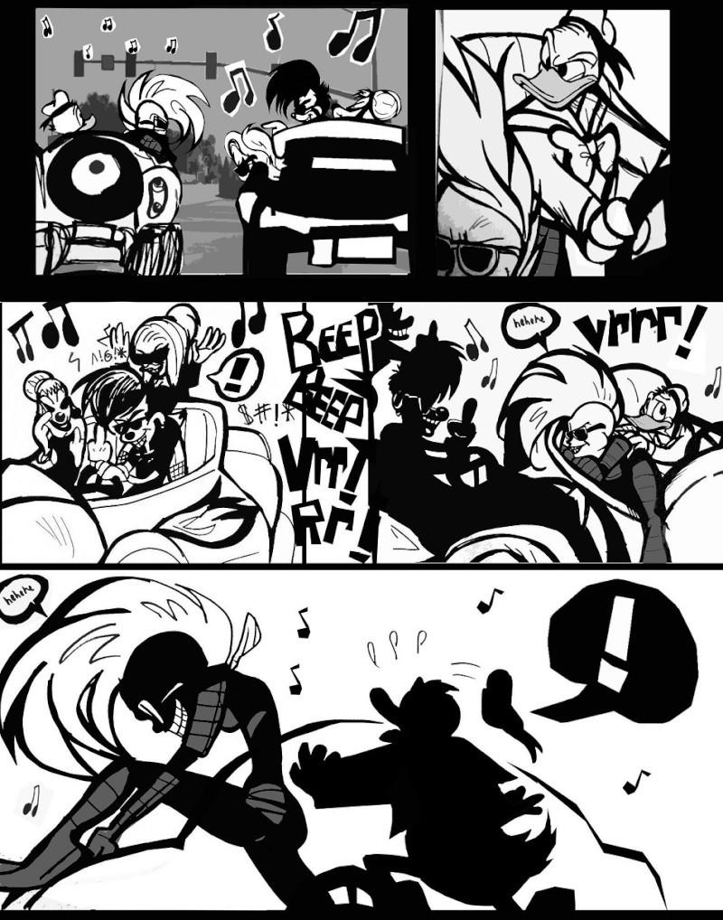 Xadhoom's Wish-- PaperNink fan comic shorts X810
