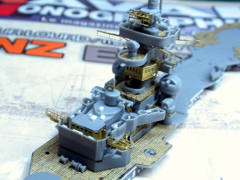 Montage Prinz Eugen au 1/700° Tamiya Pe0510