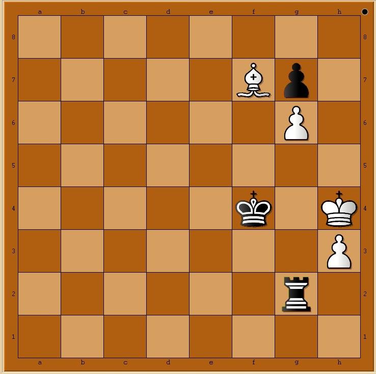 p008 les Noirs jouent et matent en 5 coups. P008n10