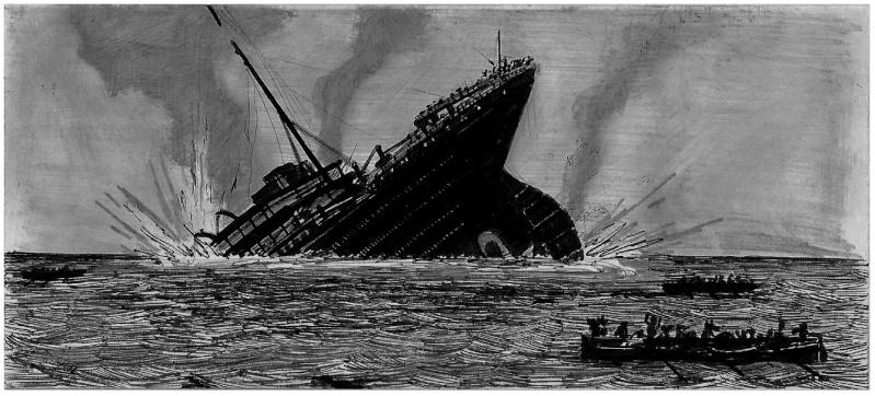 Serie de Dessins sur le TITANIC & ses Sister Ships Plan1210