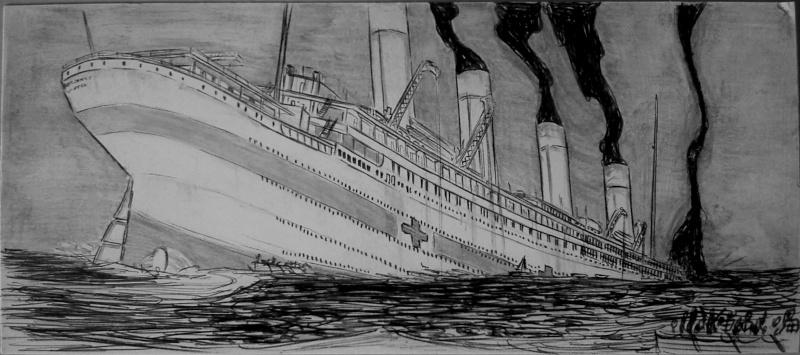 Serie de Dessins sur le TITANIC & ses Sister Ships Plan4_10