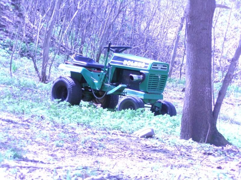 Bolens FMC LT8 lifted tractor Imag0013