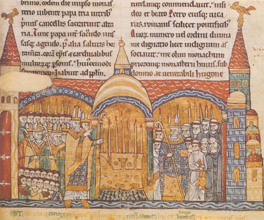 L'église au Moyen Âge  Clunyc10