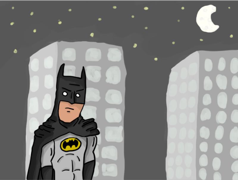 1er dessin :Batman Batman10