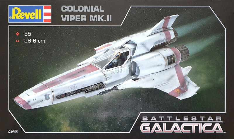 GALACTICA colonial viper MK.II Box20a10