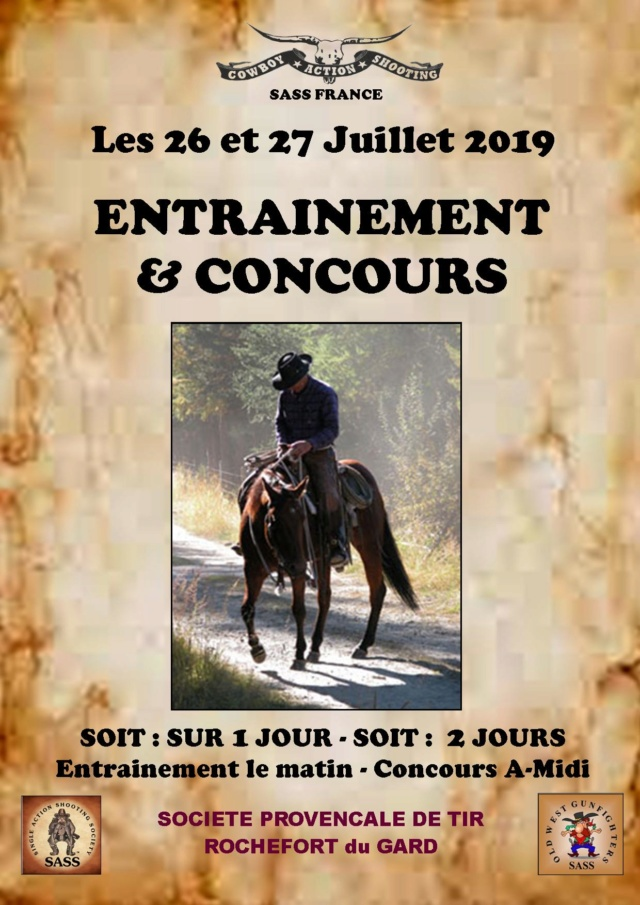 Cowboy Action Shooting OLD WEST FRENCH SHOOTERS - Portail Concou16