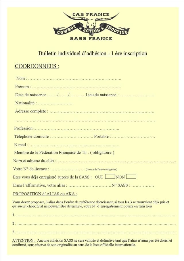 INSCRIPTION SASS - CAS France Insrip12