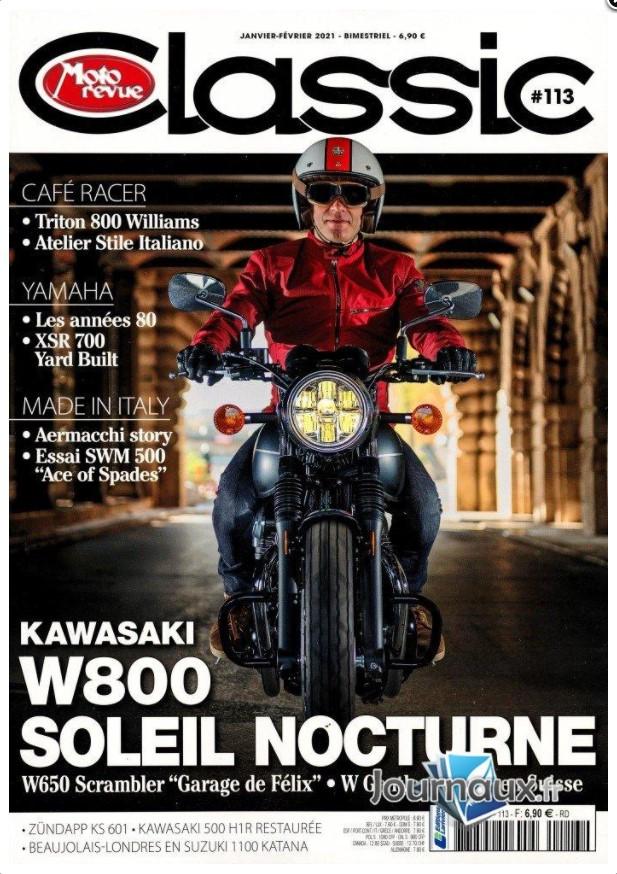 Moto-revue Classic Janvier 2021 Captur19