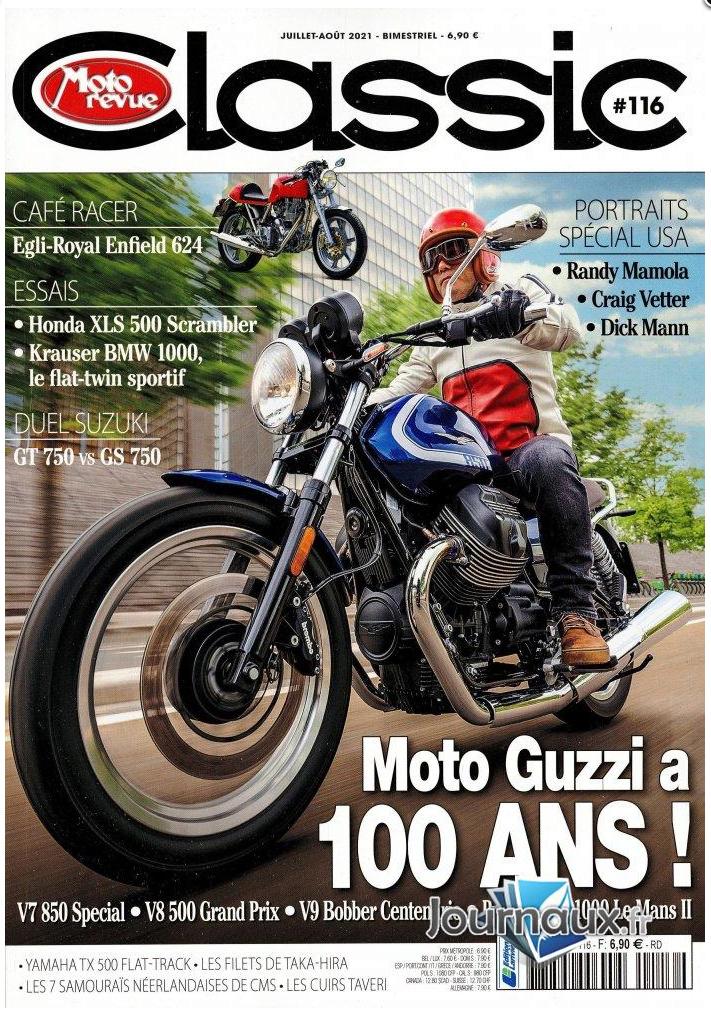Moto Revue Classic #116 Juillet Aout de l'An Deux Covidien Captur38