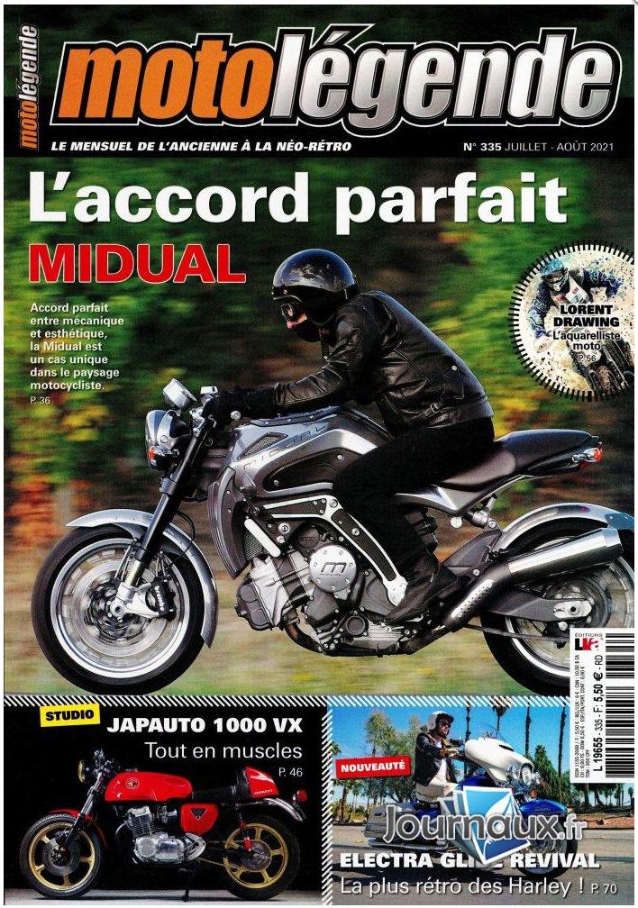 Moto-Légende # 335 Juillet-Août de l'An Deux Covidien Captur39