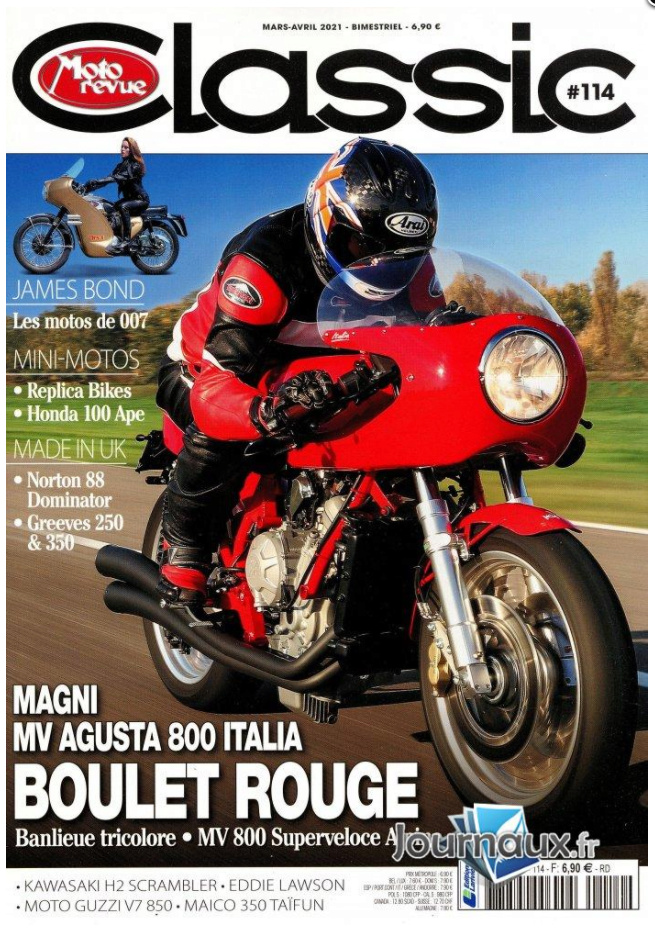 Moto Revue Classic Mars-Avril de l'An Deux Covidien... Magni_10