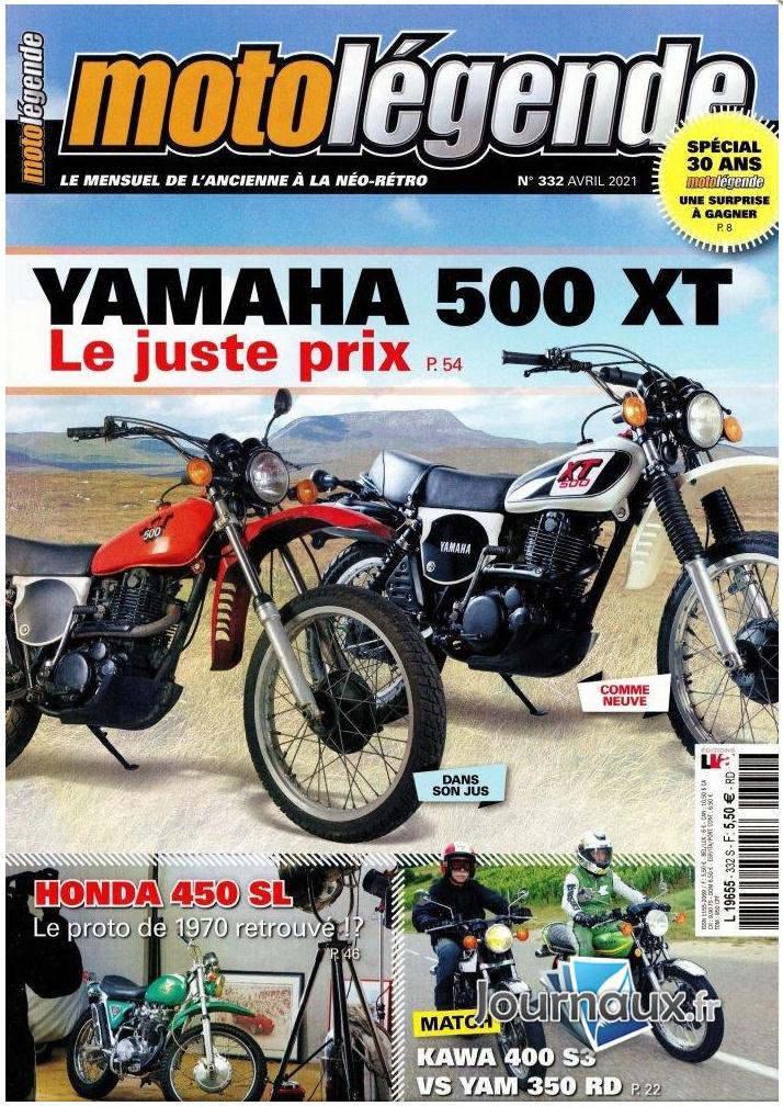 Moto Légende 332 Avril de l'An Deux covidien. Moto_l17