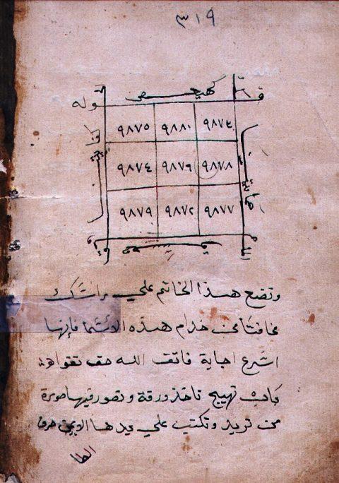 مخطوط جامع التحف والغرائب 0-309-10