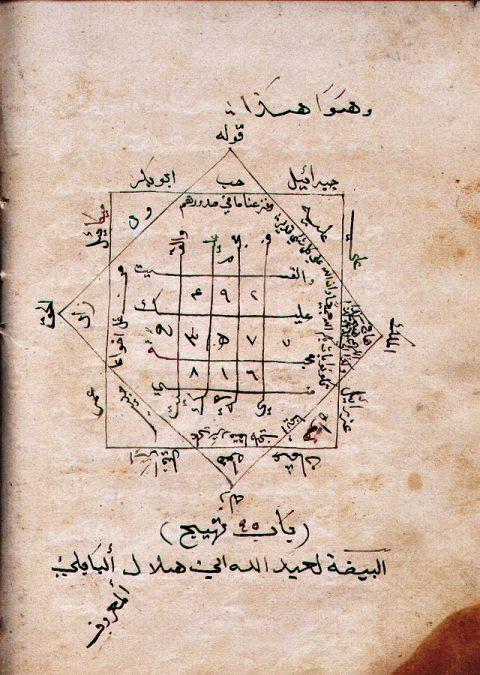 مخطوط جامع التحف والغرائب 0-349-10