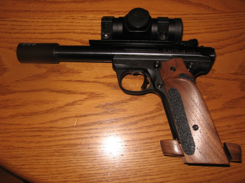 Please give me your opinion on the Ruger 22/45 as a bullseye pistol 1151011