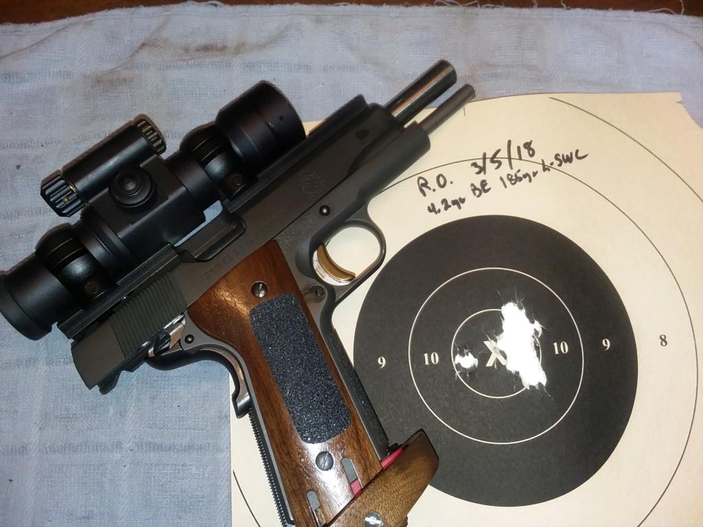 Rock River Arms 1911 Bullseye Wadcutter 20180310