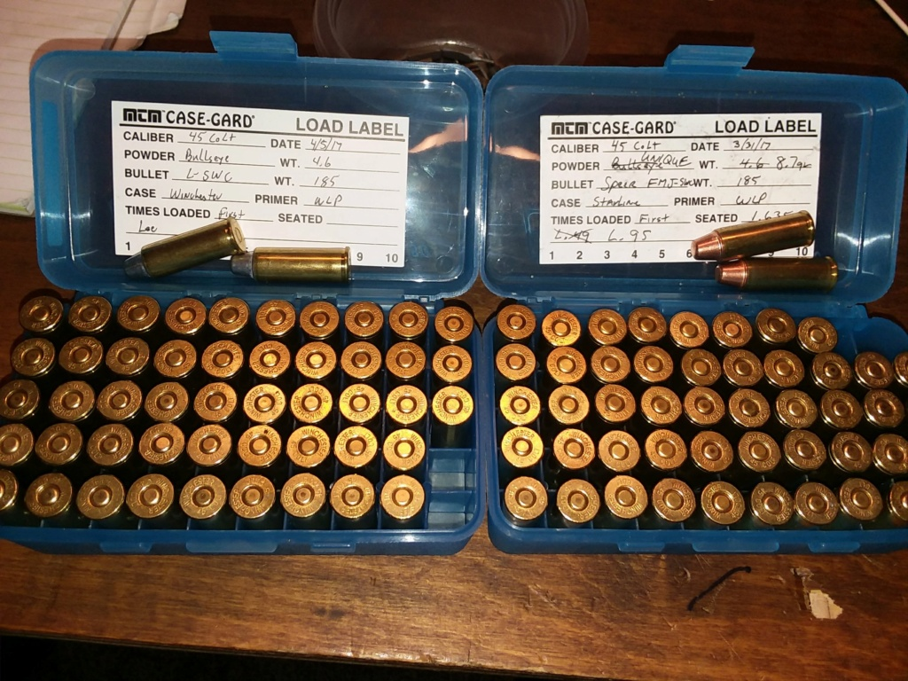 Any reason not to use .45colt caliber? 20180734