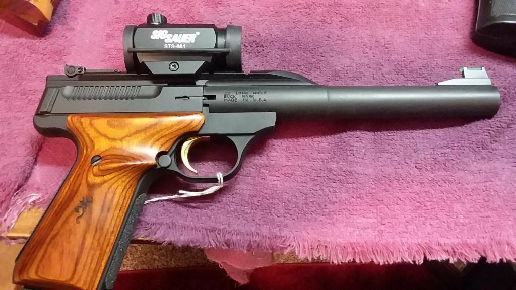 """Top .22 Pistols for """"Bullseye"""" shooting 20190236"""