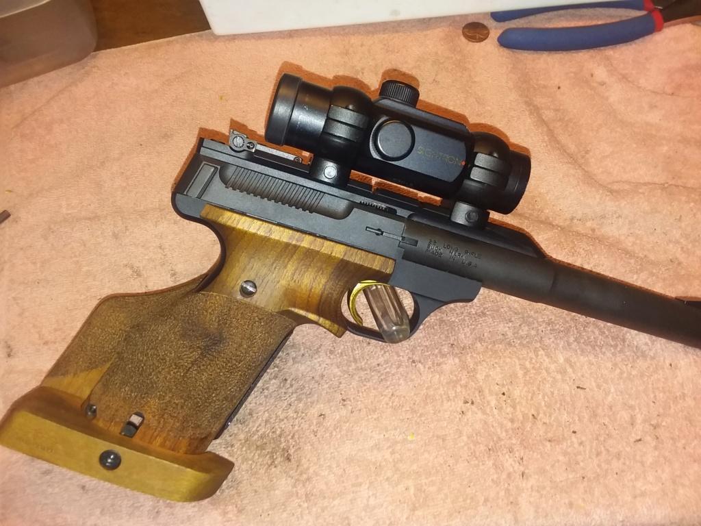 Browning Buckmark Hunter for Bullseye? 20190320