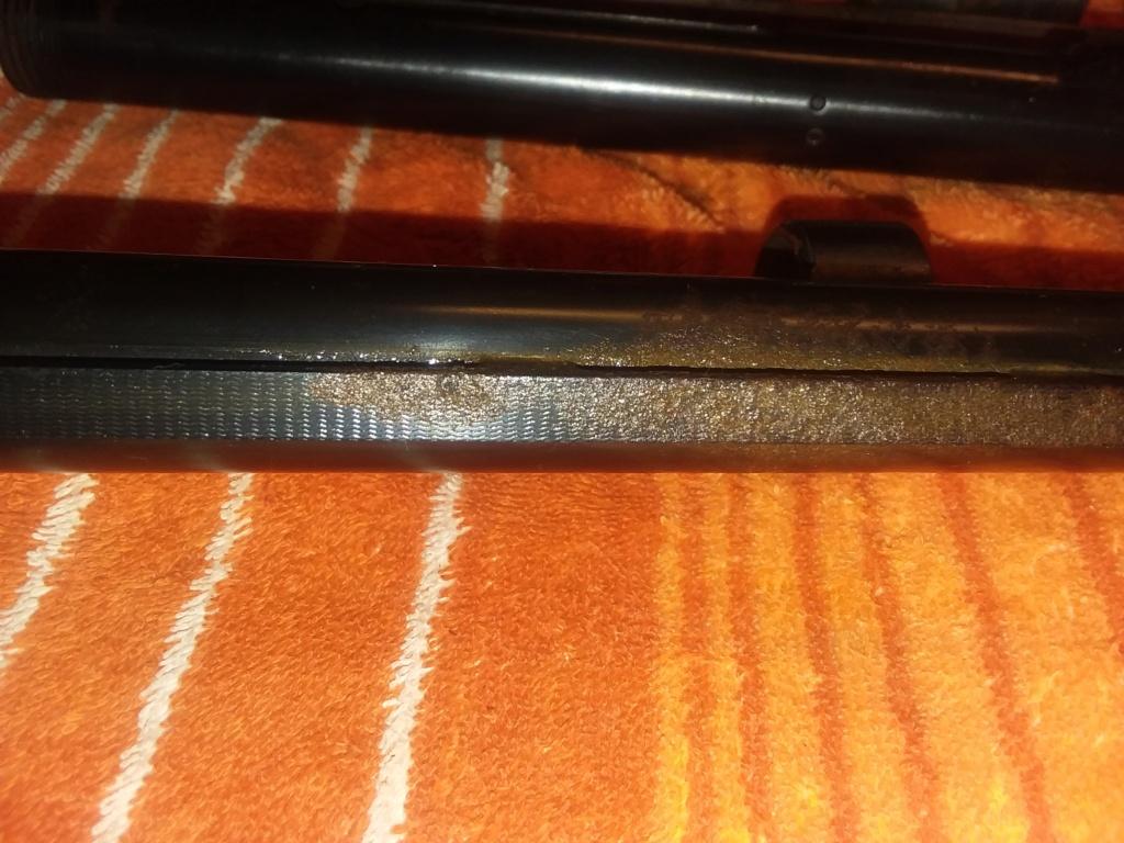 Deep rust on old shotgun 20210512