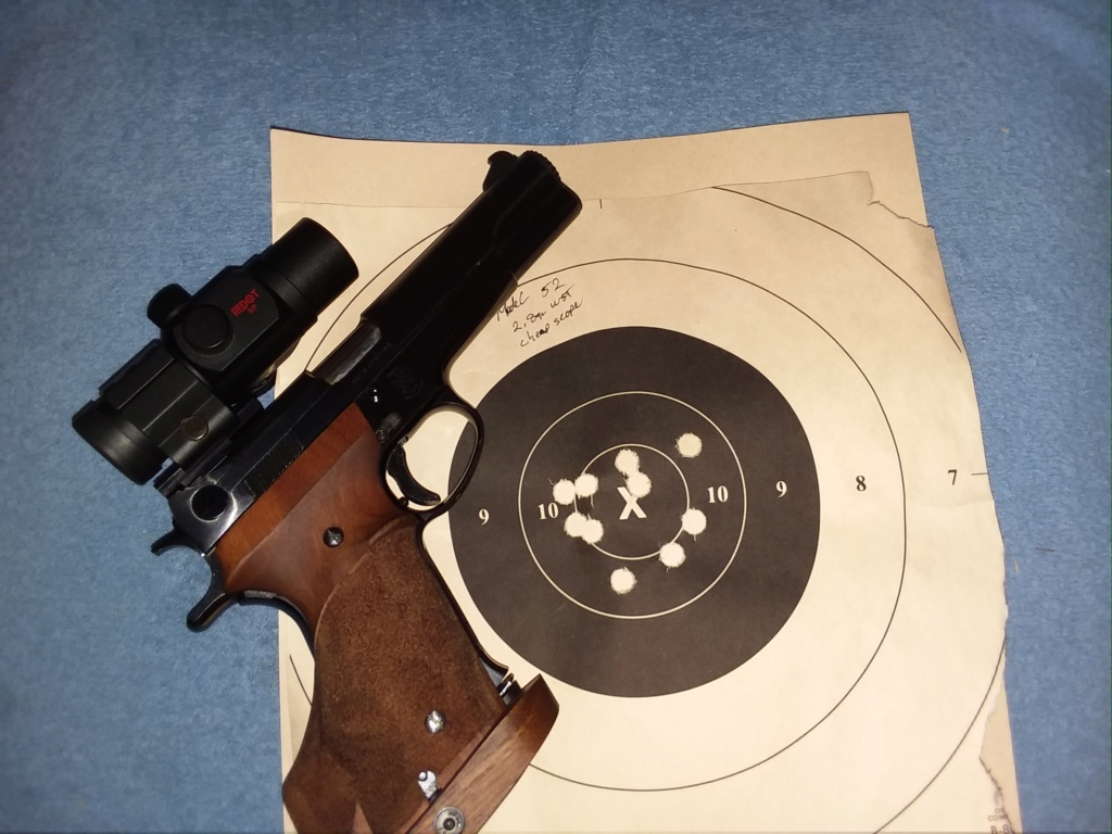 Smith and Wesson 52-2  5213