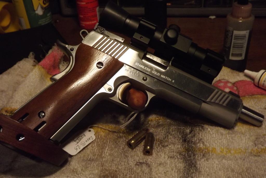 Kimber 9mm target 2 recipe Dscf0737