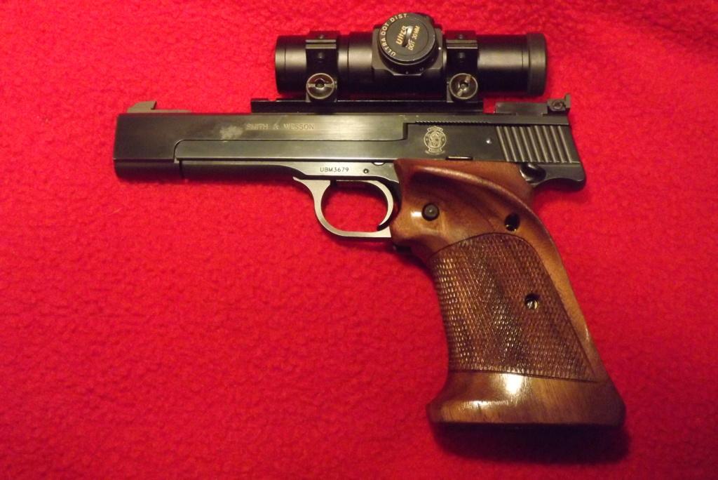 S&W M-41 Grip Recommendation Dscf0829