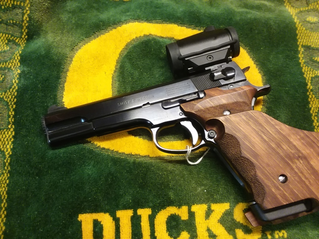 Fung grips for S&W Model 52 Match_18