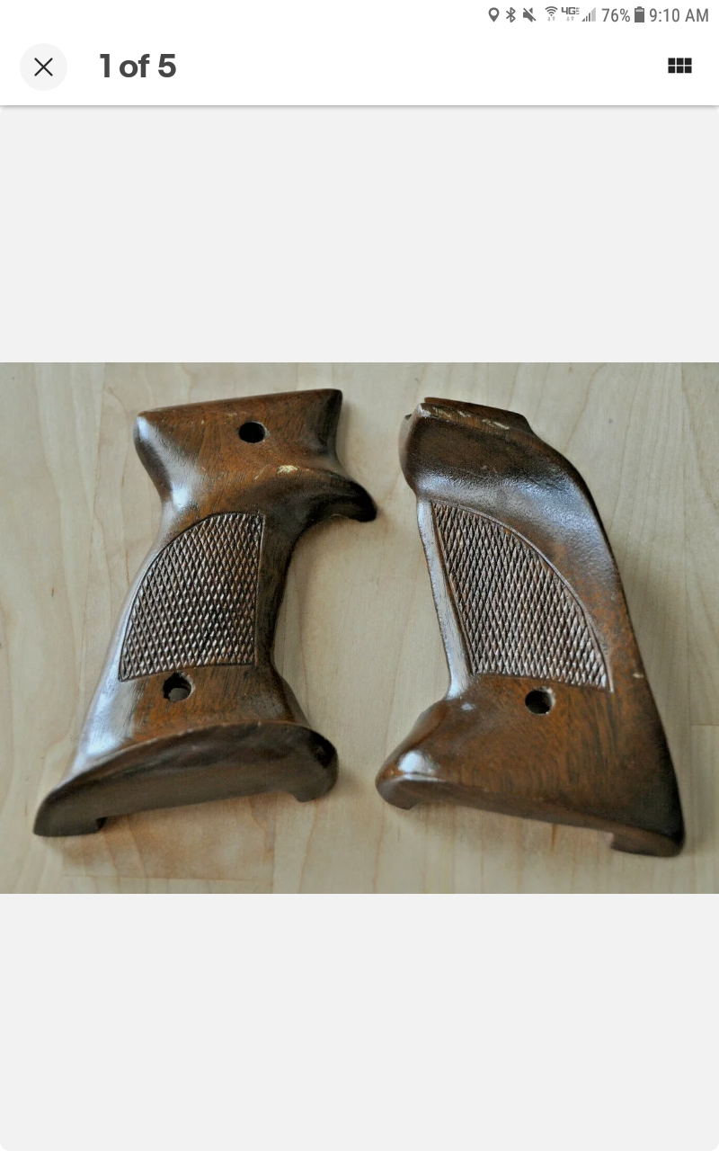 WTB target grip for S&W 41 Screen45