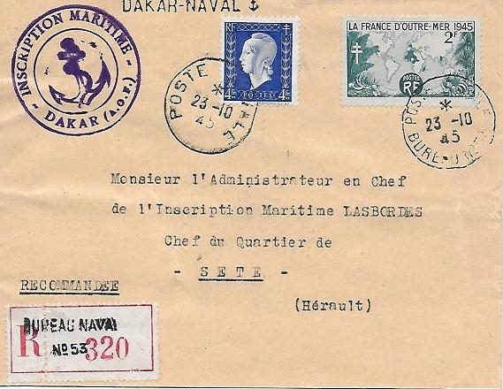 N°53 - Bureau Naval de Dakar 5310