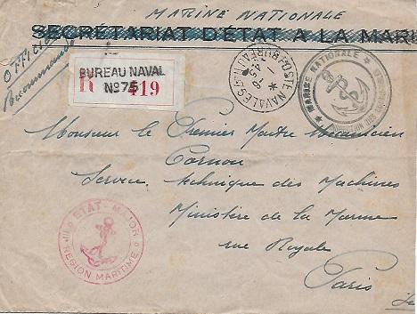 N°75 - Bureau Naval de Toulon 7510