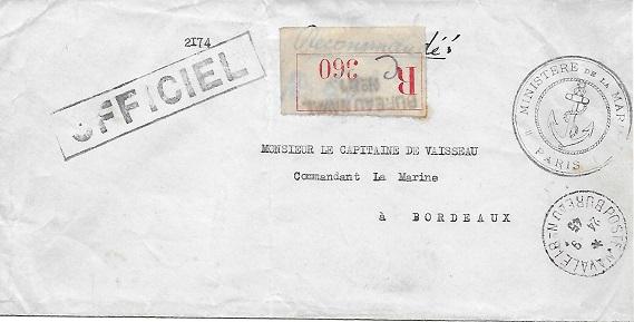PARIS - N°81 - Bureau Naval de Paris 8110