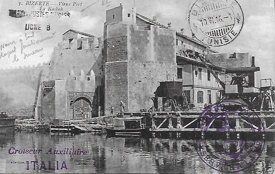 LIGNE B - Bureau Embarqué du Croiseur Auxiliaire ITALIA  Italia11