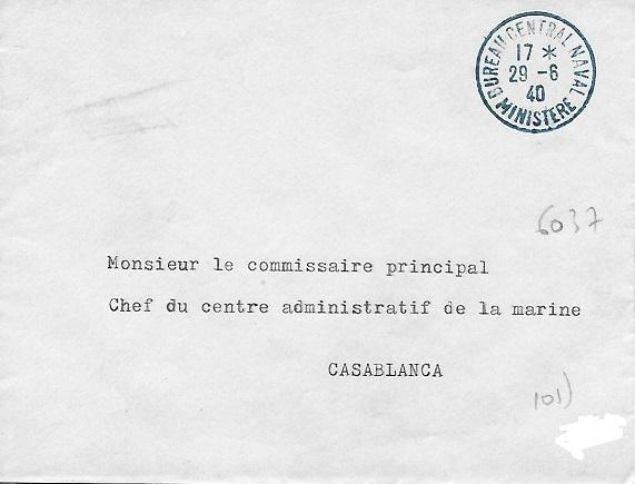 Bureau Central de la Poste Navale (B.C.P.N) Minist10