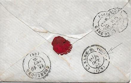 Cachets et Marques manuscrites de La Rade de Toulon 1771/1875 Rade_110