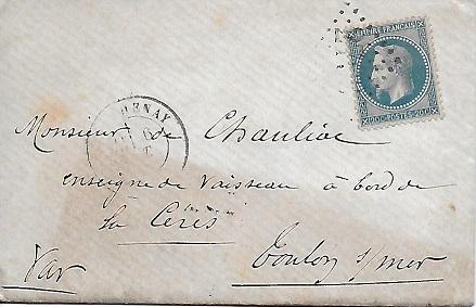 Cachets et Marques manuscrites de La Rade de Toulon 1771/1875 Rade_111