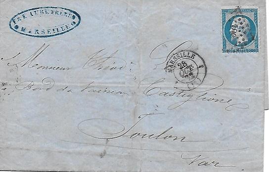 Cachets et Marques manuscrites de La Rade de Toulon 1771/1875 Rade_r12