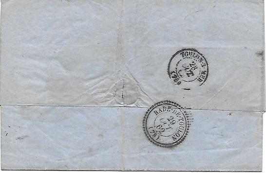Cachets et Marques manuscrites de La Rade de Toulon 1771/1875 Rade_v10