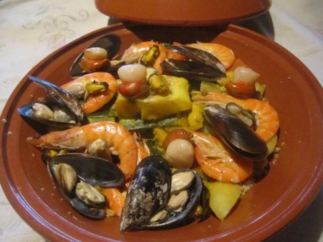Couscous aux fruits mer et poisson. 68440_10