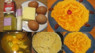 Omelette moutarde safrané. Omelet10