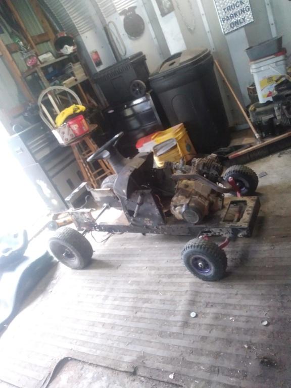 1984 Honda ATC 200 powered race mower 10061910